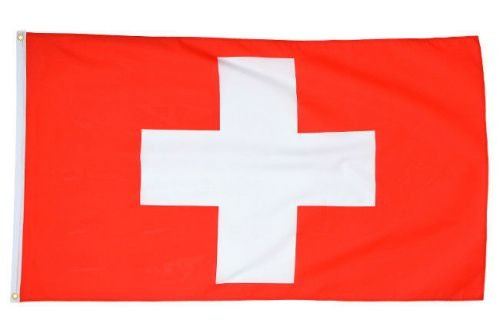 Mil-Tec Flag of Switzerland 90x150cm (5ft x 3ft)
