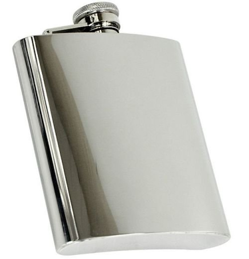 Mil-Tec Flask 8 Oz (220 ml) Silver