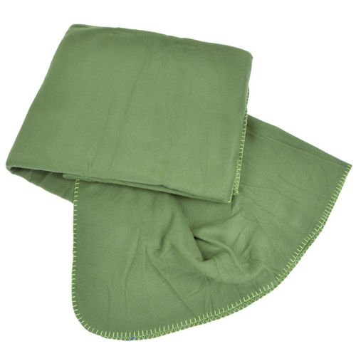 Mil-Tec Fleece Blanket with a transport bag Olive