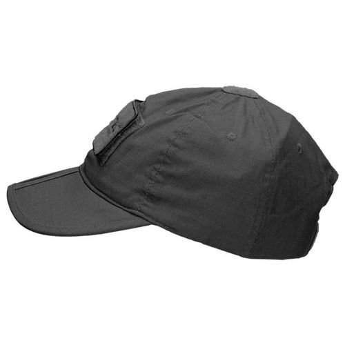 Mil-Tec Foldable Baseball Cap Black