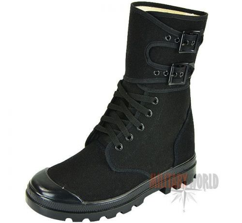 Mil-Tec French Buckle Boots Black