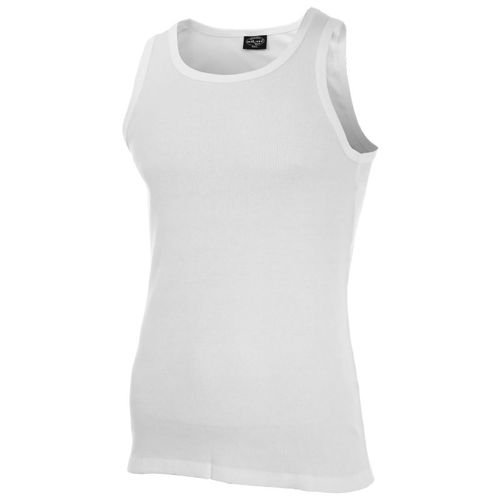 Mil-Tec Gerippt Top Shirt White
