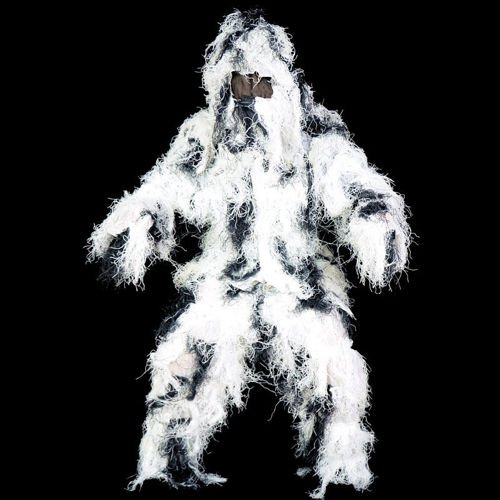 Mil-Tec Ghillie Suit Snow Camo
