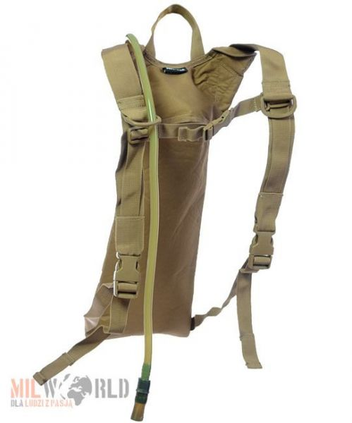 Mil-Tec Hydration System Water Pack Basic 3L Coyote