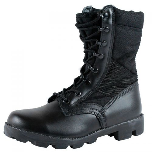 Mil-Tec Jungle Cordura Boots Black