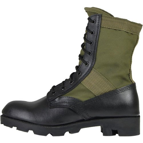 Mil-Tec Jungle Panama Boots Olive