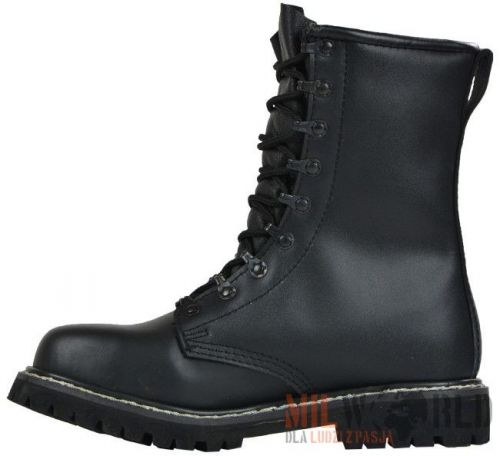 Mil-Tec Leather Boots TSR Bundeswehr (BW) Black