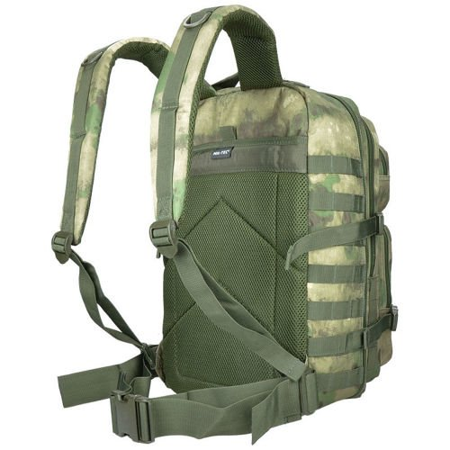 Mil-Tec MOLLE Tactical Backpack US Assault Large A-Tacs FG