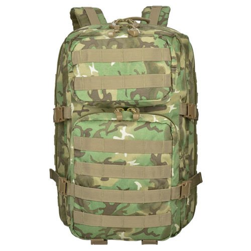 Mil-Tec MOLLE Tactical Backpack US Assault Large Arid Woodland
