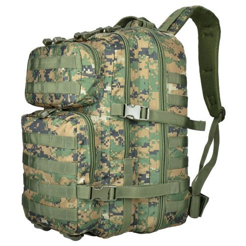Mil-Tec MOLLE Tactical Backpack US Assault Large Digital Woodland (Marpat)