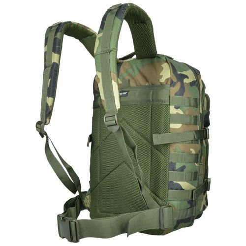 Mil-Tec MOLLE Tactical Backpack US Assault Large Woodland