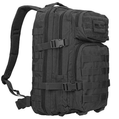 Mil-Tec MOLLE Tactical Backpack US Assault Small Black
