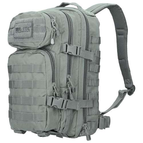 Mil-Tec MOLLE Tactical Backpack US Assault Small Foliage