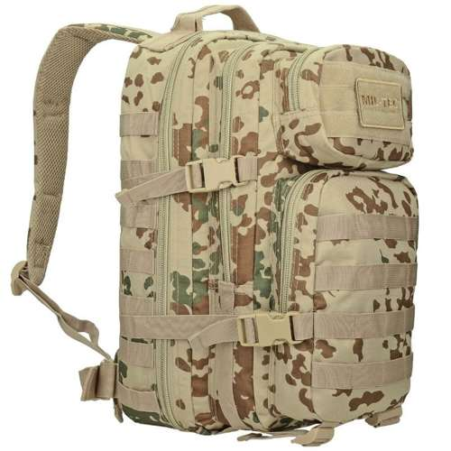 Mil-Tec MOLLE Tactical Backpack US Assault Small Tropentarn