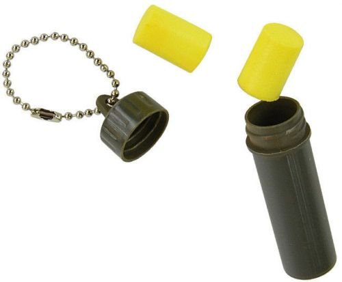 Mil-Tec Military Ear Plugs in a Box Olive