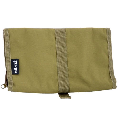 Mil-Tec Military Wash Bag of the British Army Coyote