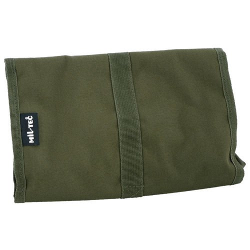 Mil-Tec Military Wash Bag of the British Army Olive