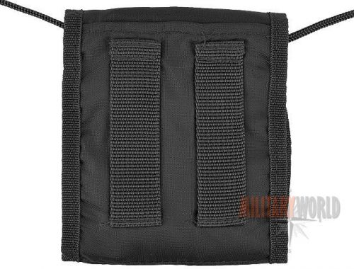 Mil-Tec Neck Wallet for Documents Black