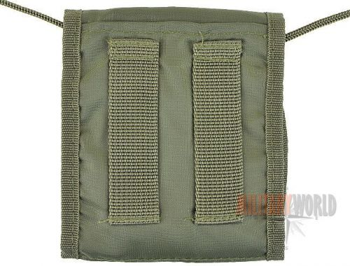 Mil-Tec Neck Wallet for Documents Olive