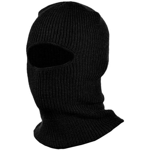 Mil-Tec One–Hole Pan Balaclava Black