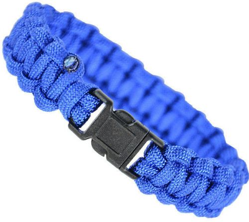 Mil-Tec Paracord 15mm Bracelet Blue