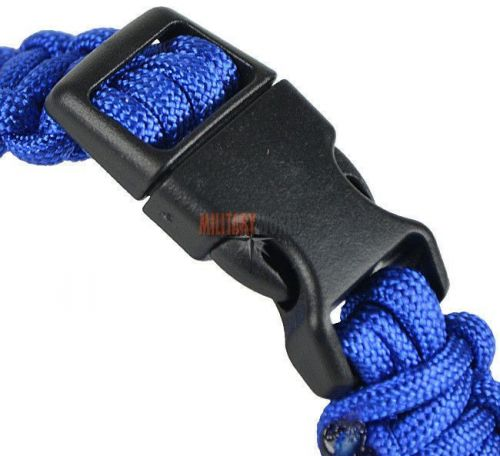Mil-Tec Paracord 22mm Bracelet Blue