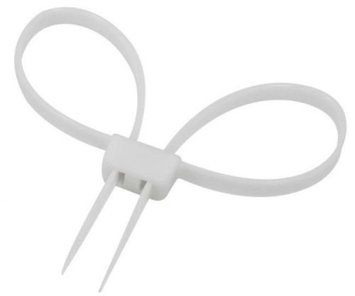 Mil-Tec Plastic Handcuffs Zip White
