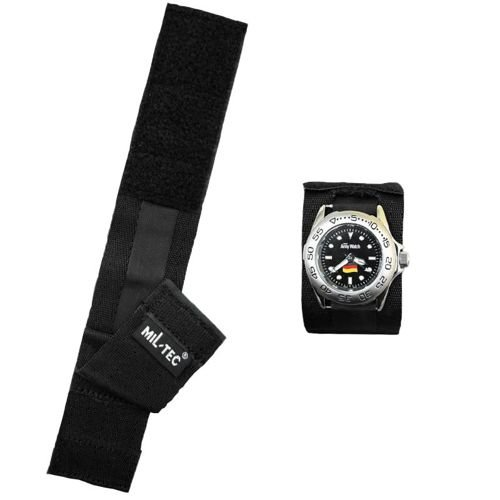 Mil-Tec Protection Watch Strap Black