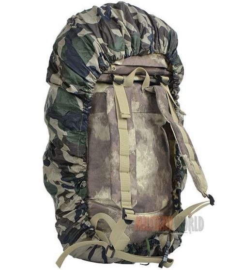 Mil-Tec Rucksack Cover Rip-Stop 80L CCE