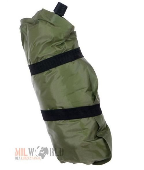 Mil-Tec Self-inflatable Pillow with a Cover Olive