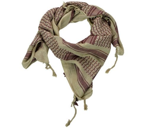 Mil-Tec Shemagh Scarf Coyote/Brown