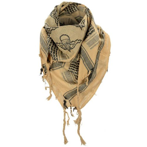 Mil-Tec Shemagh Scarf Paratrooper Coyote
