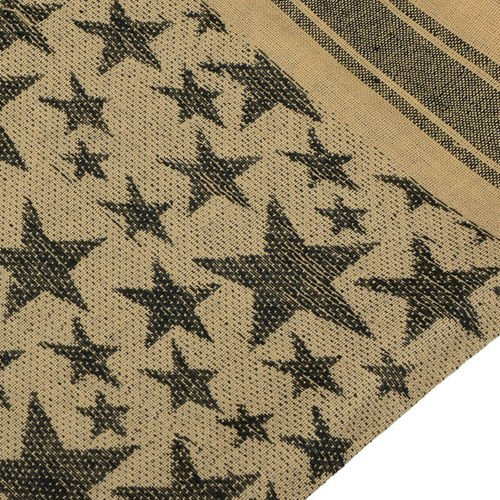 Mil-Tec Shemagh Scarf Stars Coyote
