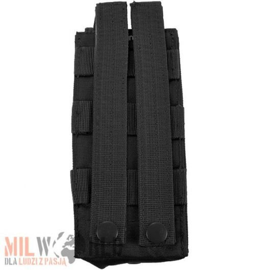 Mil-Tec Single AK–47 Magazine Pouch MOLLE Black