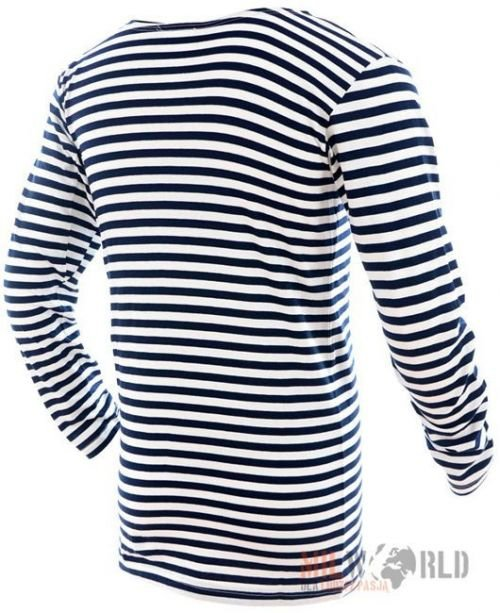 Mil-Tec Summer Long Sleeve Striped Sweater Russian Navy Pattern