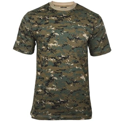 Mil-Tec T-shirt Digital Woodland (Marpat)