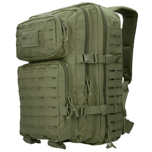 Mil-Tec Tactical Laser Cut Backpack Large Olive