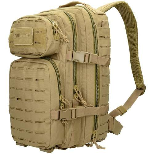 Mil-Tec Tactical Laser Cut Backpack 20L Coyote