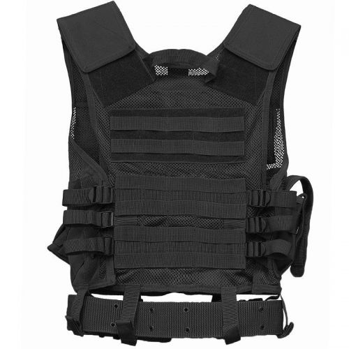 Mil-Tec Tactical Vest USMC Black