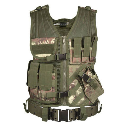 Mil-Tec Tactical Vest USMC Vegetato Woodland