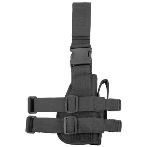Mil-Tec Thigh Holster Left Black