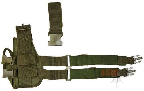 Mil-Tec Thigh Holster Right Olive