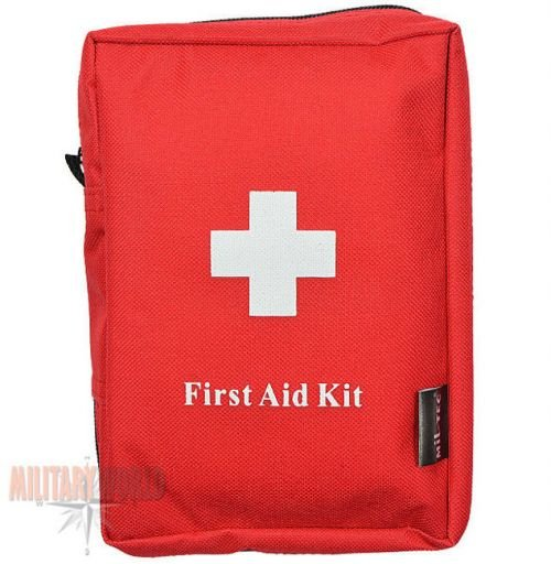 Mil-Tec Tourist First Aid Kit Large Red