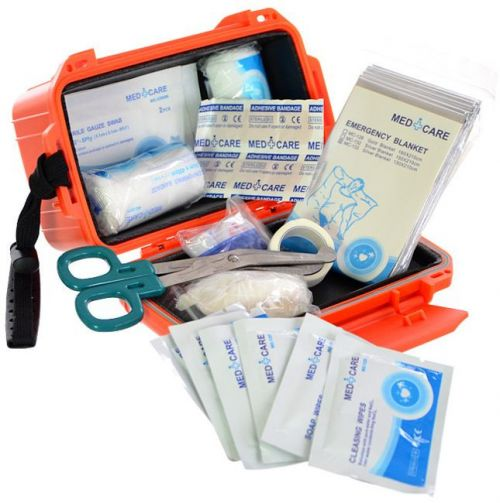 Mil-Tec Touristic First Aid Kit in a Box Orange