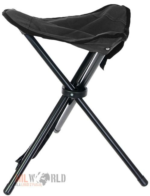 Mil-Tec Touristic Stool Black