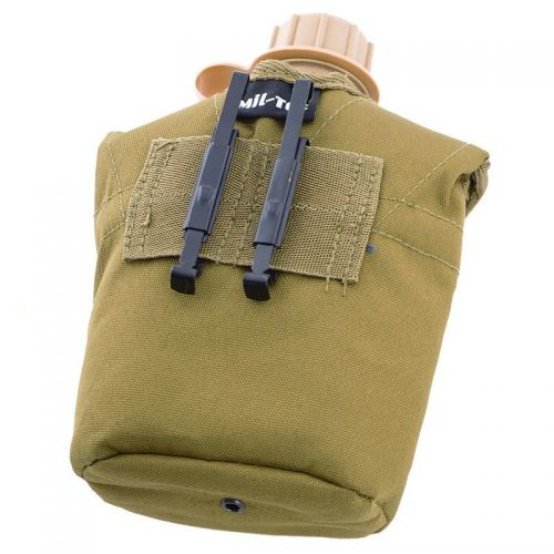 Mil-Tec US Plastic Canteen with Cup LC2 Coyote