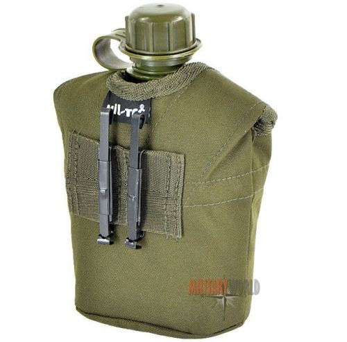 Mil-Tec US Plastic Canteen with Cup LC2 Olive