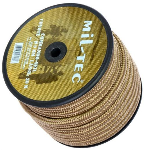 Mil-Tec Universal Rope Commando 30m/9mm Coyote  [a roll]