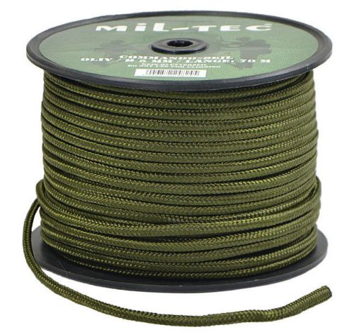 Mil-Tec Universal Rope Survival 70m/5mm Olive [a roll]