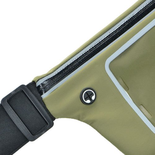 Mil-Tec Waist Pouch for Smartphone and Keys Lycra Clear Olive